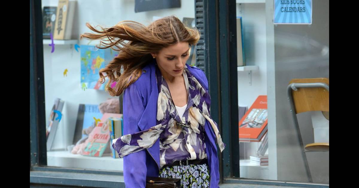 Olivia Palermo, parfait mix d'imprimes... A shopper ...