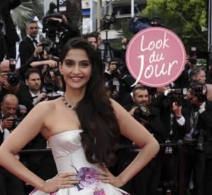 Cannes 2013 : Sonam Kapoor, apparition grandiose pour ''Jeune et Jolie''