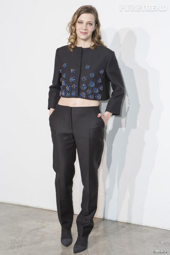 Celine Sallette à la présentation de la collection Croisière 2014 Dior bec8f899b901