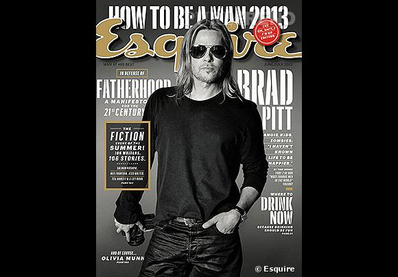 Brad Pitt se confie dans les pages d'Esquire, avouant qu'il adore le bazar que font ses 6 enfants à la maison.