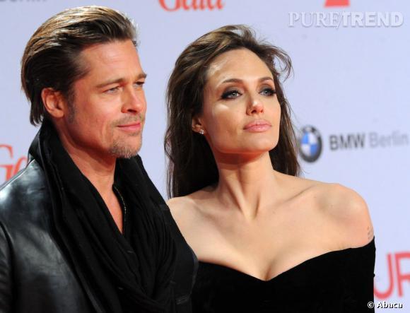 Brad Pitt est aussi comblée par sa fiancée, Angelina Jolie.