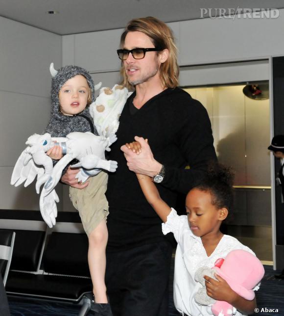 Brad Pitt n'a pas de honte à l'avouer, il est accro à sa famille nombreuse !