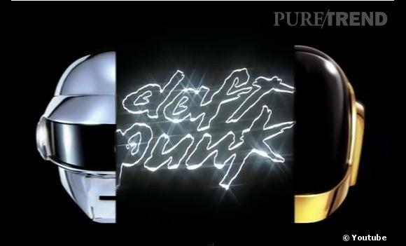 """Daft Punk, le nouvel album """"Random Access Memories"""" est en course pour le meilleur et plus rapidement vendu album de l'année 2013."""