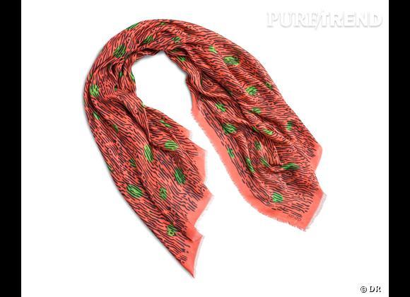 Tendance maxi foulard Printemps-Eté 2013 : le bon shopping     Foulard Kenzo, prix sur demande