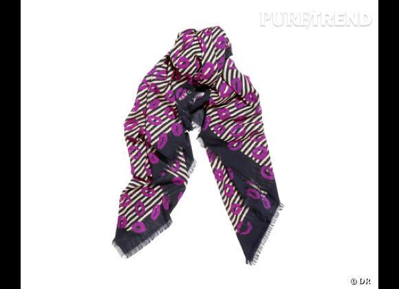 Tendance maxi foulard Printemps-Eté 2013 : le bon shopping     Foulard Marc by MArc Jacobs, 205 € sur  Net-a-porter.com