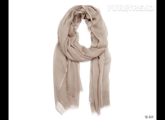 Tendance maxi foulard Printemps-Eté 2013 : le bon shopping     Foulard Mango, 14,99 €
