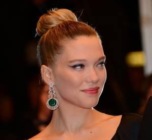 Lea Seydoux vs Lana Del Rey : les boucles d'oreilles Chopard en emeraudes et diamants