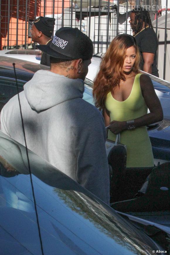 Chris Brown et Rihanna sont en guerre froide, cette nouvelle n'annonçait rien de bon.