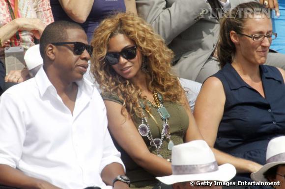 Les stars se sont enchaînées dans les gradins ces dernières années au tournoi de tennis de Roland Garros. Comme en 2010 où le couple Beyoncé et Jay-Z était présent.