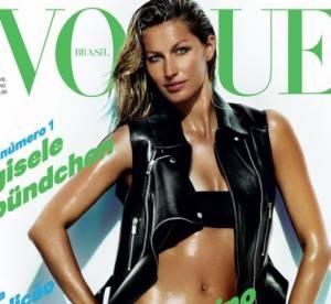 Gisele Bundchen : l'ete va etre chaud pour Vogue !