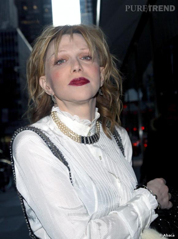 """Lorsque Courtney Love lui a conseillé de se reprendre, le sang d'Amanda n'a fait qu'un tour. """"Courtney Love est la plus laide femme que j'aie jamais vue."""""""