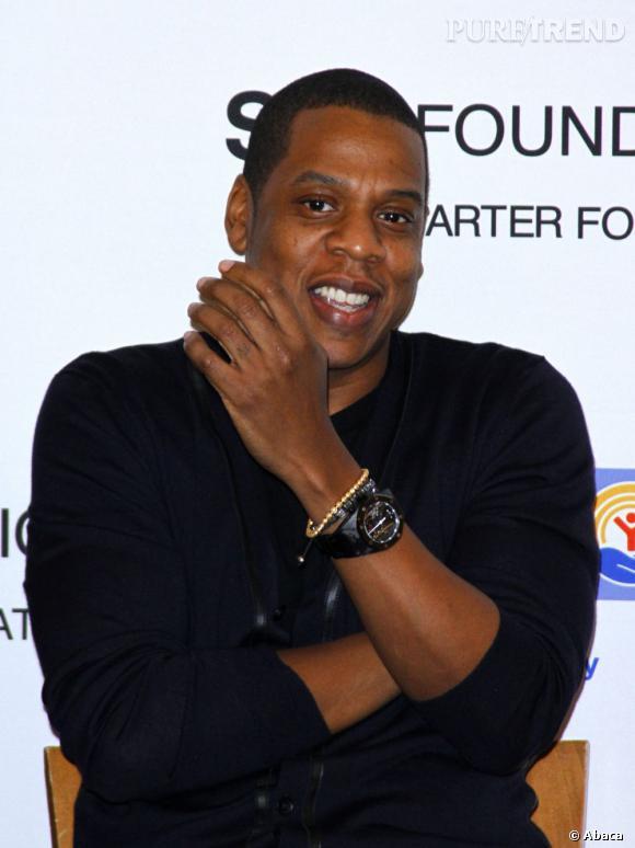 """Jay-Z peut s'estimer heureux il n'a eu le droit qu'à la légende """"Sale tête"""" pour accompagner une photo de lui."""