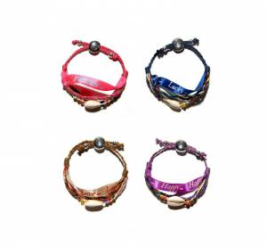 Les bracelets solidaires de Clarins