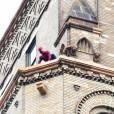 Peter Parker dans la peau de Spider-Man...