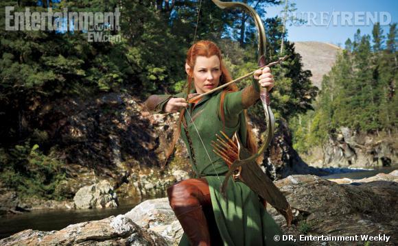 Evangeline Lilly en elfe sylvestre : voici la première image exclusive, dévoilée par Entertainment Weekly.