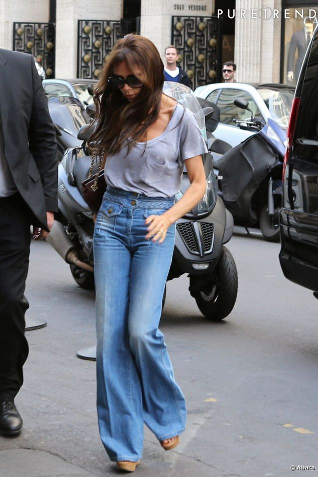 The Return of Flare Jeans