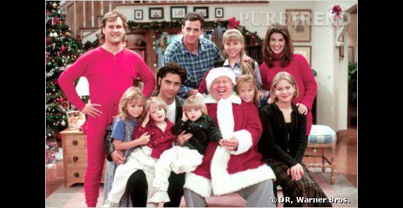 """Mary Kate et Ashley Olsen ont commencé leur carrière dans la série """"La fête à la maison""""."""