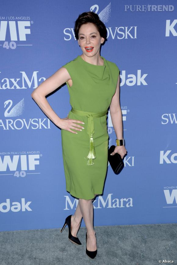 Rose McGowan lors des Women In Film's 2013 Crystal + Lucy Awards à Los Angeles.