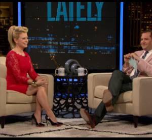 """C'est sur l'émission """"Chelsea Lately"""", que l'actrice Melissa Joan Hart s'est vantée de ce baiser..."""
