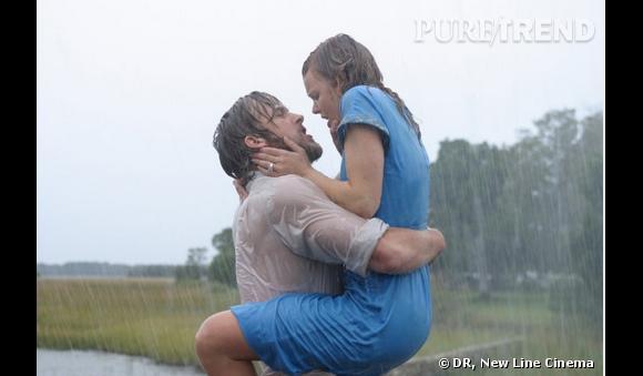 """""""The Notebook"""" : l'une des scènes les plus célèbres pour les fans des comédies romantiques."""