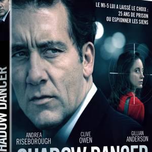 """Le DVD : """"Shadow Dancer"""". Pourquoi lui ? Pour découvrir cette dangereuse danse menée au sein de l'IRA par deux acteurs de talents : Clive Owen et Andrea Riseborough. Un film qui nous plonge directement en plein dans le mystère et dont le final ne manquera pas de nous faire sursauter. Le prix : 19.99 €"""