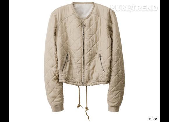 H&M collection Eté 2013 : coups de coeur    Veste matelassée, 59,95 €