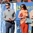 Jennifer Love Hewitt et Brian Hallisay lors d'une sortie en amoureux.