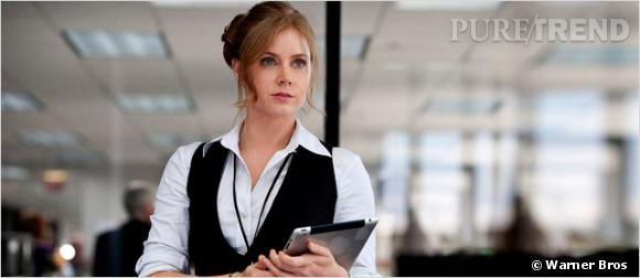 """Amy Adams en Loïs Lane dans """"Man Of Steel""""."""