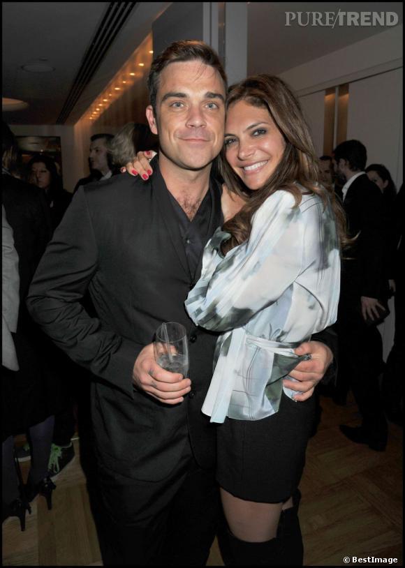 Robbie Williams et sa compagne, Ayda Field. Que pense-t-elle de l'idée de drogues pour sa petite Teddy ?