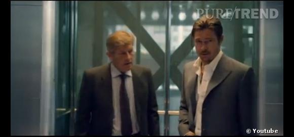 """Brad Pitt dans """"The Counselor""""."""