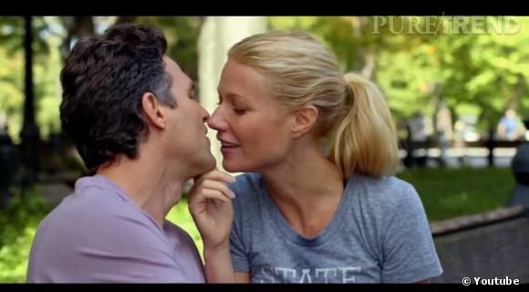 """Gwyneth Paltrow et Mark Ruffalo joue un couple où ce dernier souffre d'addiction au sexe pour """"Thanks for Sharing""""."""