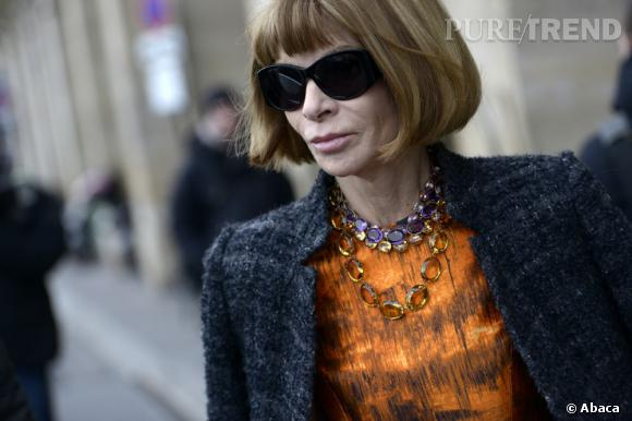 Anna Wintour, Rédactrice en chef du Vogue US, a fait part de sa joie concernant une décision de la Cour suprême des États-Unis, en faveur de l'union des homosexuels.
