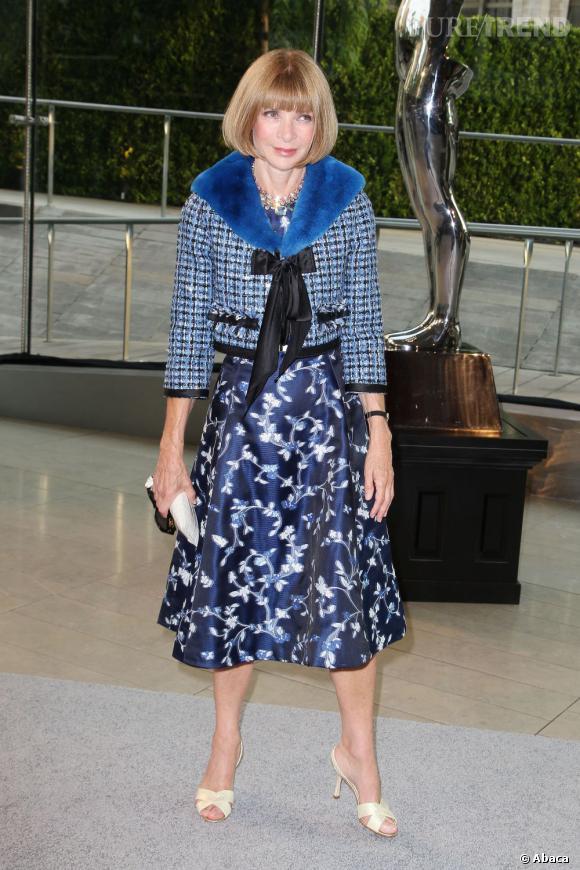 Anna Wintour lors des CFDA Fashion Awards 2013.