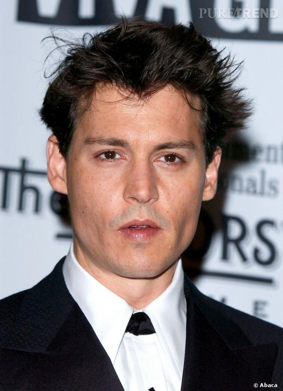 Johnny Depp en 2004, charmeur.