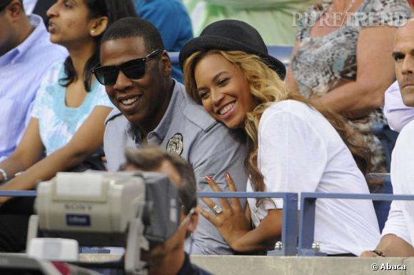 """Jay-Z et Beyoncé, un nouveau duo 10 ans après """"Bonnie & Clyde""""."""