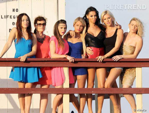 Toutes les filles de l'aventure des Anges de la Télé-réalité 5.
