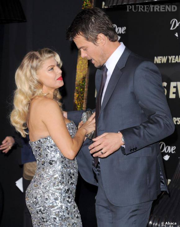 Fergie enceinte : son homme Josh Duhamel semble très excité par l'arrivé du bébé !