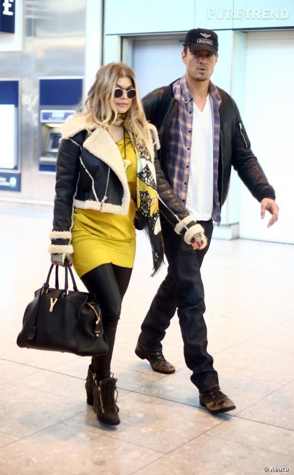 Fergie et Josh Duhamel, un couple aux anges.