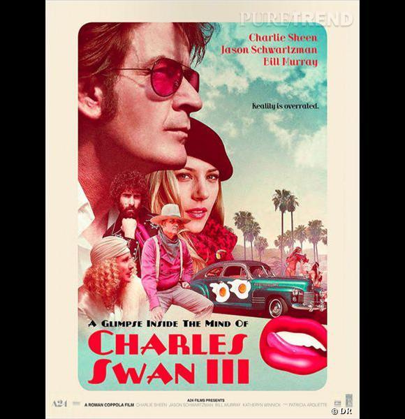 """Le film  : """"Dans la tête de Charles Swan III"""" .    Le pitch :  Graphiste réputé de Los Angeles, Charles Swan est un séducteur excentrique à qui tout a toujours souri. Mais quand son grand amour Ivana, lassée de ses frasques d'homme à femmes, met brutalement fin à leur relation, c'est tout son monde qui s'effondre. Avec le soutien de ses fidèles amis Kirby et Saul et de sa soeur Izzy, il entreprend alors un étrange voyage d'introspection dans son imaginaire, et tente de se résigner à vivre sans Ivana.    La date de sortie :  24 juillet 2013."""