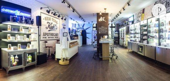 La petite dernière des boutiques Kiehl's parisiennes. Une déco vintage au 217 rue Saint Honoré, Paris 1er.