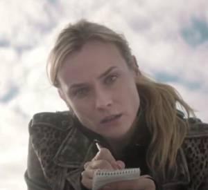 """Diane Kruger se lance sur le petit écran dans """"The Bridge"""", la nouvelle série de la chaîne FX..."""