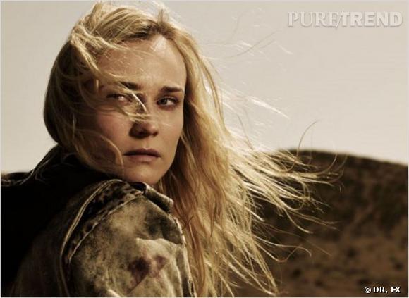 Diane Kruger joue Sonya Cross, une policière souffrant du symptôme d'Asperger.