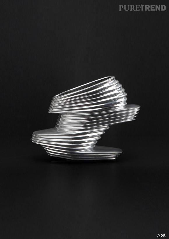 La Nova Shoe : une chaussure futuriste issue de la collaboration entre Zaha Hadid et United Nude.