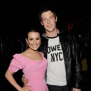 Lea Michele et Cory Monteith aux 23èmes Kids' Choice Awards en 2010.