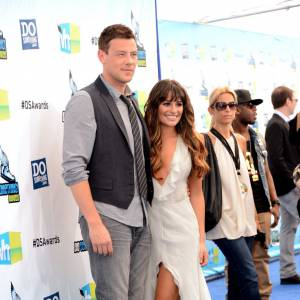 Cory Monteith et Lea Michele aux Do Something Awards 2012.