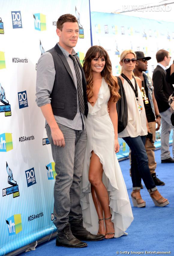 Cory Monteith et Lea Michele aux Do Something Awards 2012.