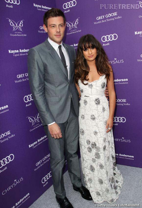 Cory Monteith et Lea Michele au Chrysalis Butterfly Ball 2013.