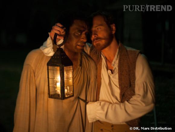 """""""Twelve Years a Slave"""" dévoile une bande-annonce choc avec Michael Fassbender et Brad Pitt."""