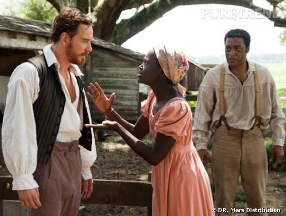 """""""Twelve years a Slave"""" : Michael Fassbender joue le méchant esclavagiste sans pitié."""
