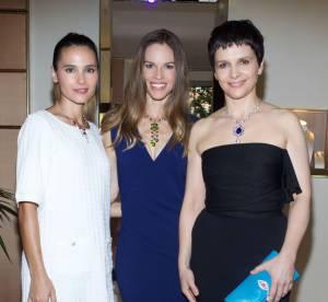 Hilary Swank, Juliette Binoche... Bulgari ouvre sa 1ère boutique à Saint Tropez